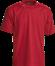 Rød T-Shirt - herre, Prowear (815021100)