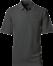Koksgrå Polo Shirt m. brystlomme, herre, Prowear (825028100)