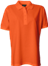Orange Polo Shirt u. brystlomme, dame, Prowear (725009100)