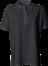 Sort Polo Shirt u. brystlomme, dame, Prowear (725009100)