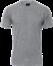 Grå melange T-Shirt - herre, Basic (815010100)