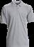 Grå  Herre Polo Shirt m. brystlomme, Basic (825012100)