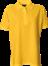 Gul Polo Shirt u. brystlomme, dame, Prowear (725009100)