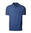 Blå melange Polo Shirt m. brystlomme, herre, Prowear (825028100)