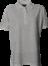Grå melange Polo Shirt u. brystlomme, dame, Prowear (725009100)