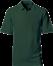 Grøn Polo Shirt m. brystlomme, herre, Prowear (825028100)